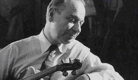 Zino Francescatti Mozart Violin Concerto Cover