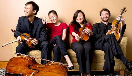 Zora String Quartet Young Concert Artists Cover