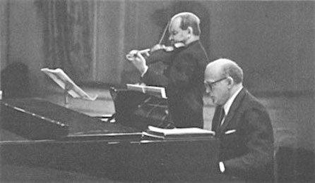 Oistrakh & Richter - Brahms Sonata No. 3, Live 1967 [AUDIO]