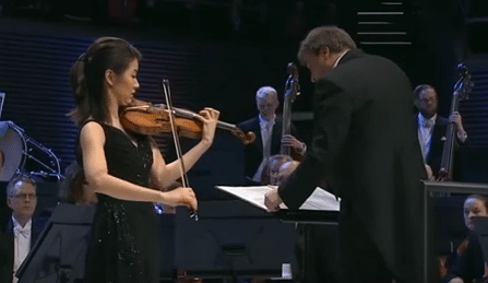 Christel Lee Bartok Sibelius International Violin Comp Cover