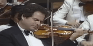 Itzhak Perlman Bruch Cover
