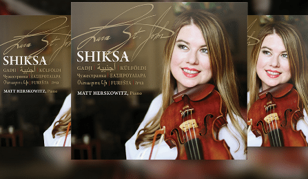 Lara St John Matt Herskowitz Shiksa CD Giveaway Cover