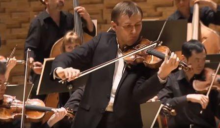 Nikita Borisoglebsky Vieuxtemps Violin Concerto 5 Cover
