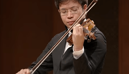 Paul Huang Sarasate Romanza Andaluza Cover