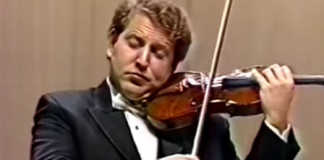 Shlomo Mintz Beethoven Violin Concerto 1990 cover