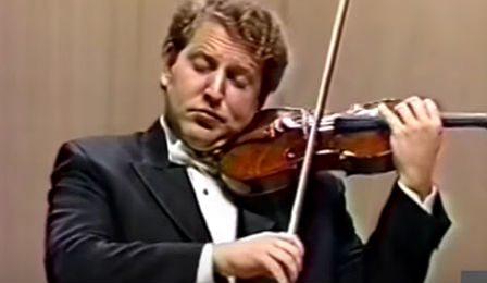 Shlomo Mintz Beethoven Violin Concerto 1990 cover