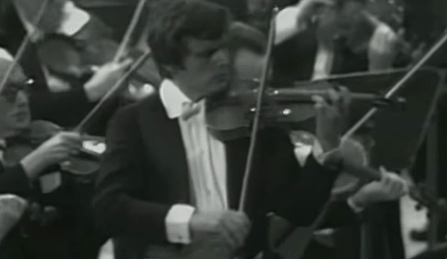 Uto Ughi Beethoven Violin Concerto 1978 Cover