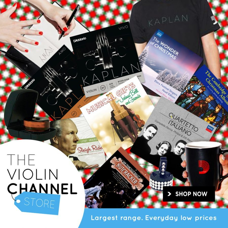 Violin Channel Store Pack Christmas