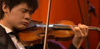 Angelo Xiang Yu Young Violinist Violin Cover