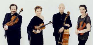 Artemis Quartet Anthea Kreston Violinist Cover