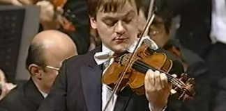 Frank Peter Zimmermann Brahms Concerto 1994 Cover