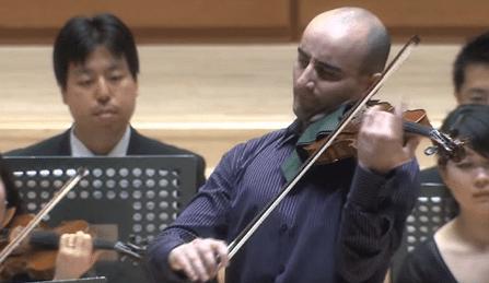 Igor Pikayzen Mozart Violin Concerto 2 Cover