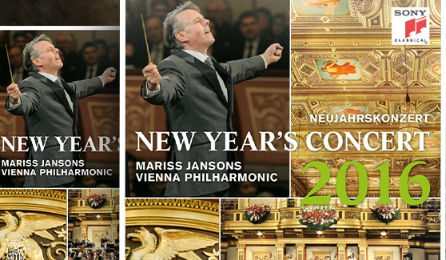 New Year's Concert 2016 Sony Classical CD Cover