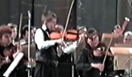 Nikita Boriso Glebsky Mendelssohn 11 Years Old Cover