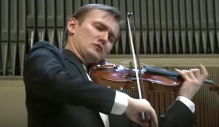 Nikita BorisoGlebsky Elgar Violin Concerto Cover