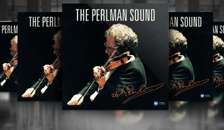The Perlman Sound Itzhak Perlman CD Cover