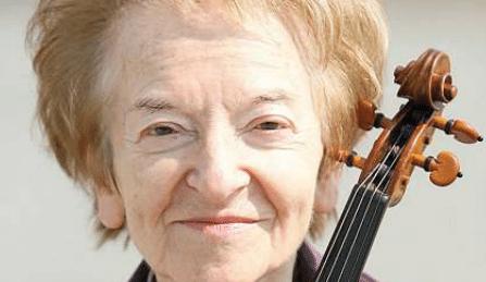 Wanda Wilkomirska Violinist Birthday Polish Cover