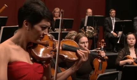 Anne Akiko Meyers Samuel Jones Violin concerto