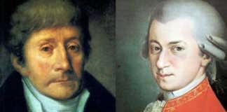 Antonio Salieri Mozart Joint Composition Cover