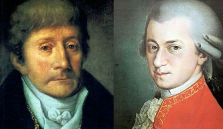 Antonio Salieri Mozart Joint Composition Cover