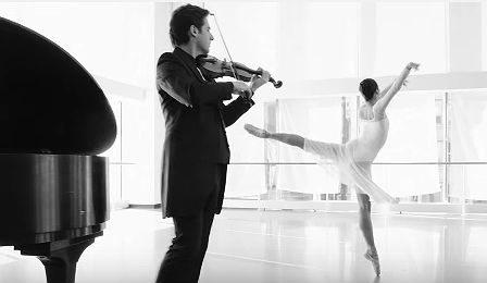 Philippe Quint Valse Triste Violin Ballerina Cover