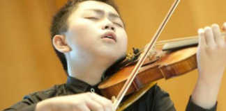 Ziyu He Mozart International Violin Competition Salzburg Cover