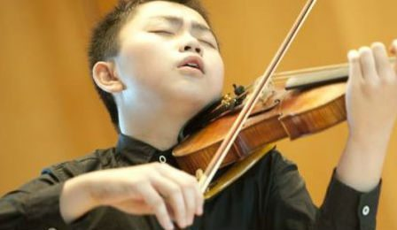 Ziyu He Mozart International Violin Competition Salzburg Cover