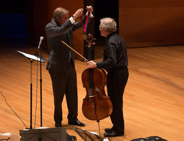Joel Krosnick Juilliard President's Medal Cello