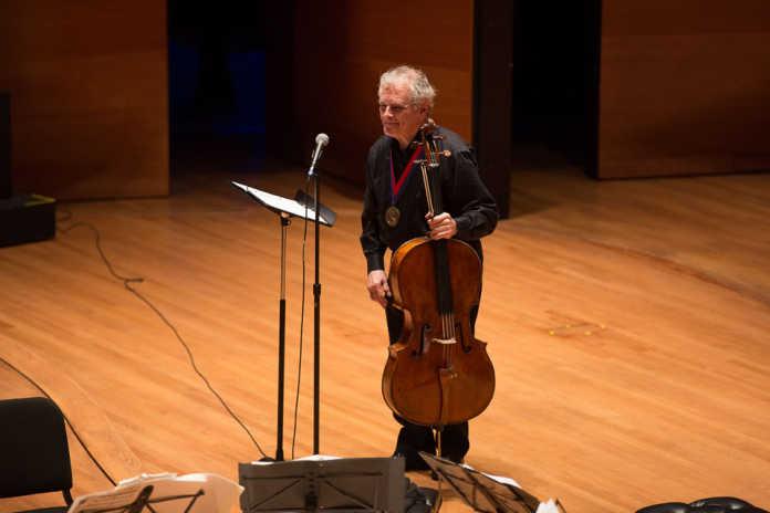 Joel Krosnick celllist Juilliard School President's Medal
