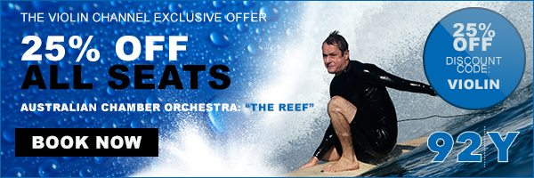 Australian Chamber Orchestra The Reef Richard Tognetti Surfing