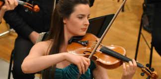 Amalia Hall Violin Violinist