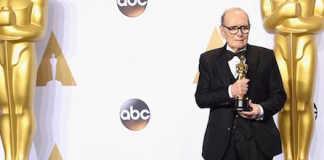 Ennio Morricone Academy Award Oscar Best Score Cover