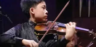 Kerson Leong Menuhin Competition
