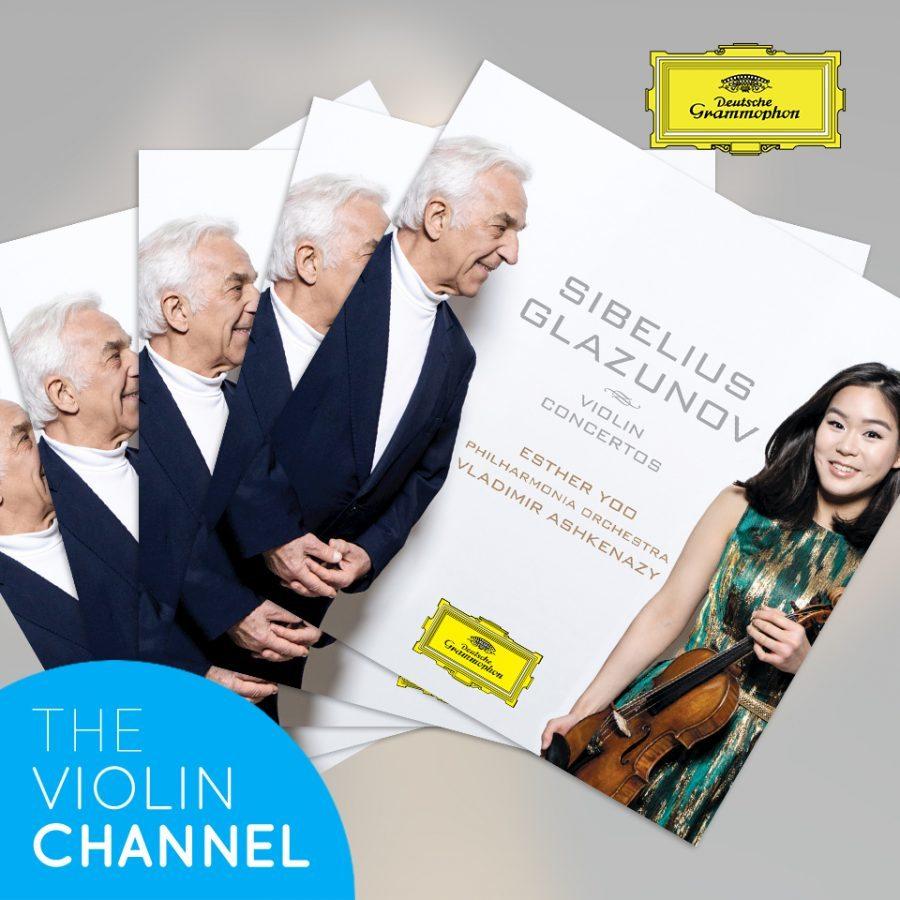 Esther Yoo Sibelius Glazunov CD