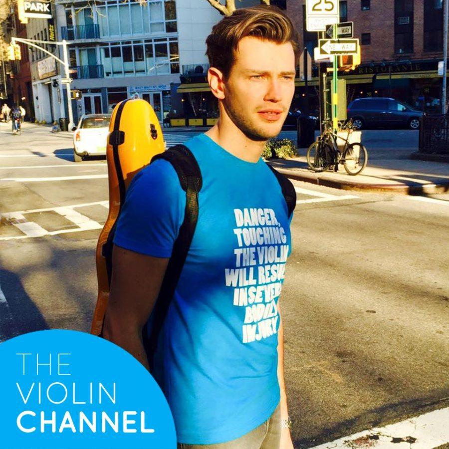 Violin Channel T-Shirt T-Shirts Filip Pogady