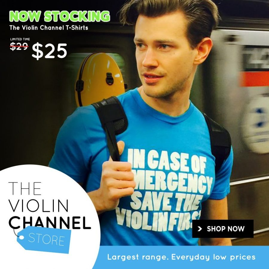 Violin Channel T-Shirt