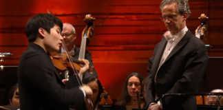 InMo Yang Paganini Violin Concerto