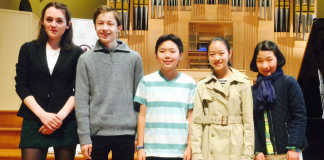 Menuhin Competition Junior Finalists