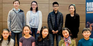 Menuhin Competition Junior Semi Finalists
