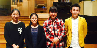Menuhin Competition Senior Finalists