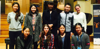 Menuhin Competition Senior Semi-Finalists