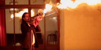 Pyro-Trombone Valentin Guerin