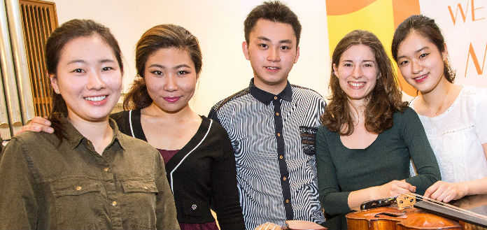 Leopold Mozart Violin Competition Semi-Finalists
