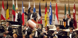 european youth orchestra close