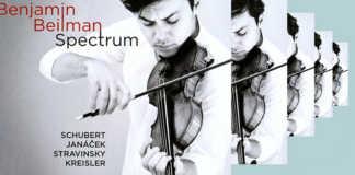 Benjamin Beilman Spectrum Cover