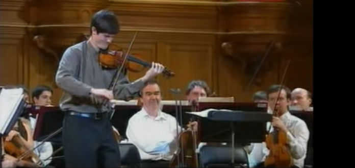 Nigel Armstrong Tchaikovsky Violin Competition