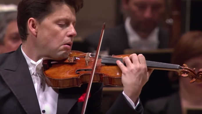 NEW TO YOUTUBE | Julian Rachlin - Shostakovich Violin Concerto No. 1, Live, 2016 [VIDEO]