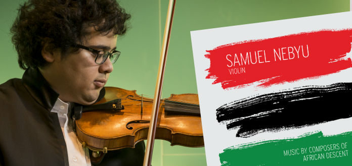 Samuel Nebyu African Descent Violin Violinist Cover