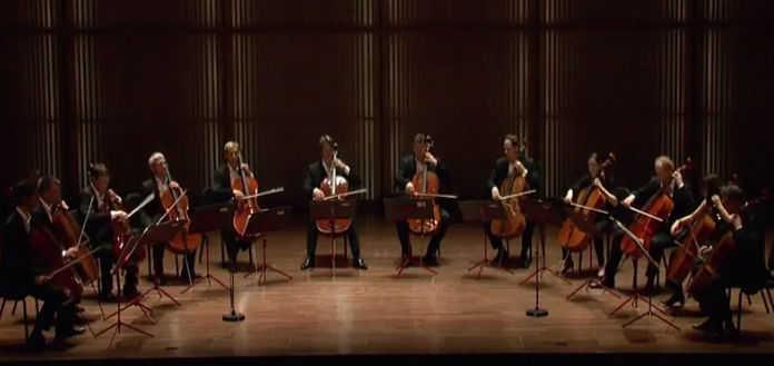12 Cellists