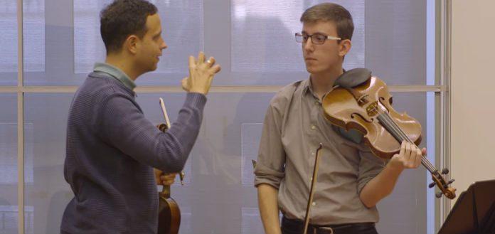Berlin Philharmonic Viola Masterclass